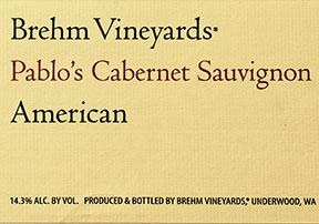 Brehm Vineyard Cabernet Sauvignon
